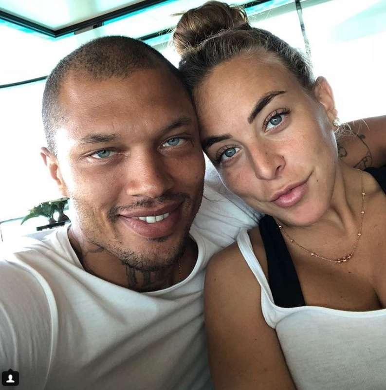 Jeremy Meeks, l'ex detenuto ora modello con la fidanzata Chloe Green