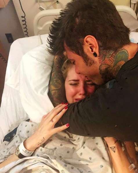 Le lacrime di Chiara Ferragni