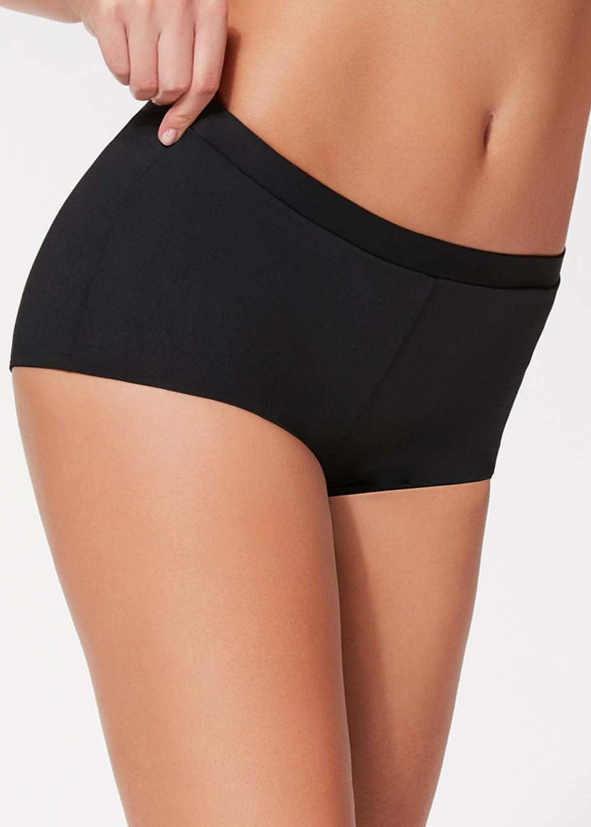 Pantaloncino nero per costume Calzedonia a 15 euro