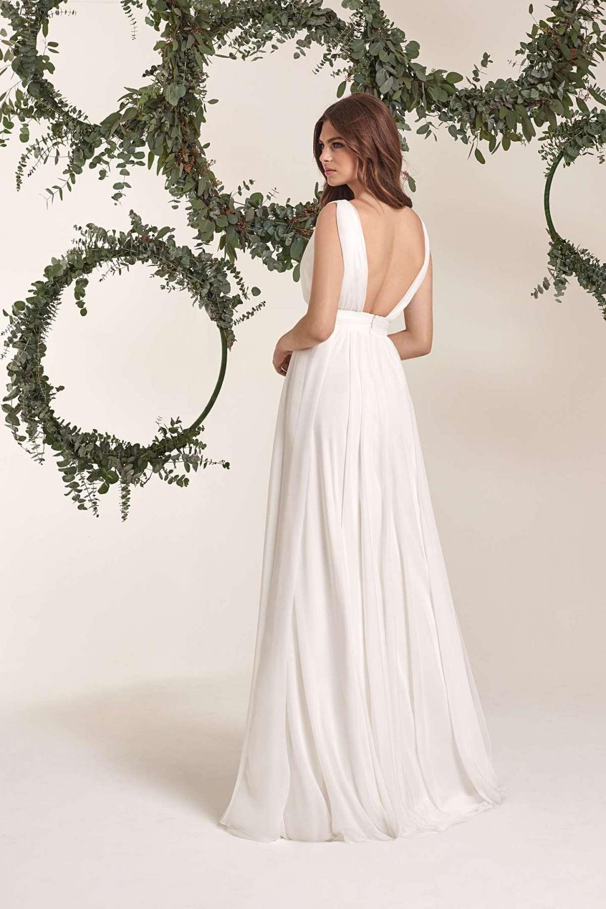 Vestito da sposa stile impero Atelier Emé, dettaglio
