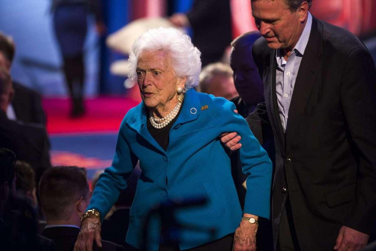 Barbara Bush, First lady di ferro