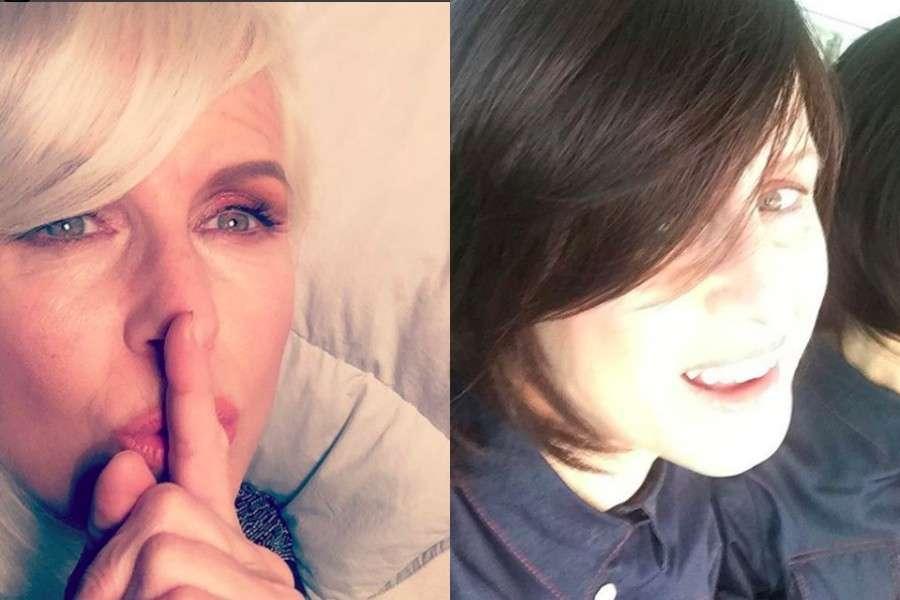 Carla Gozzi cambia look, prima e dopo