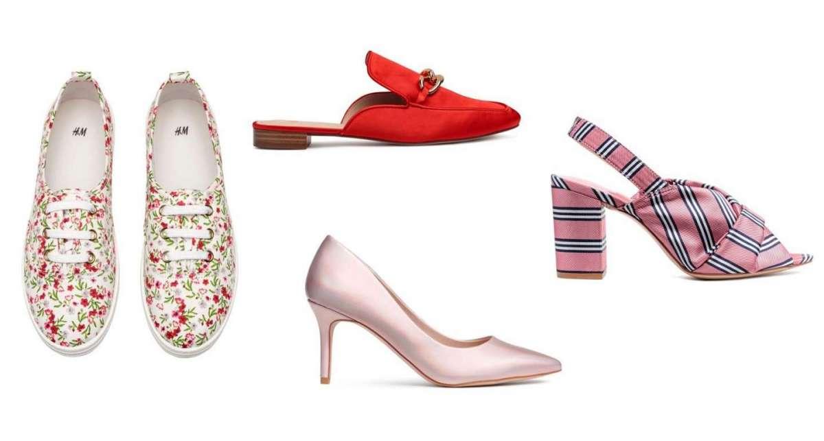 Catalogo scarpe H&M Primavera Estate 2018