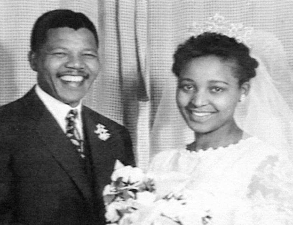 Nelson e Winnie Mandela, nozze nel 1958