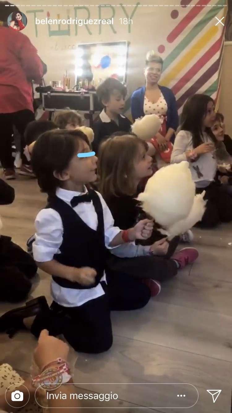 Santiago De Martino alla festa per i suoi 5 anni