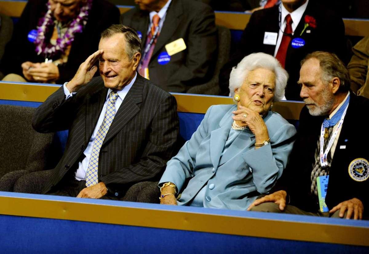 Una vita al fianco di George H. W. Bush