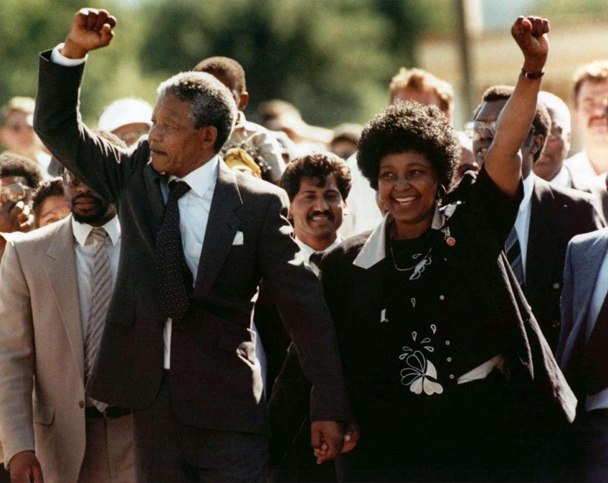 Winnie Mandela, la donna che camminava con il presidente Nelson