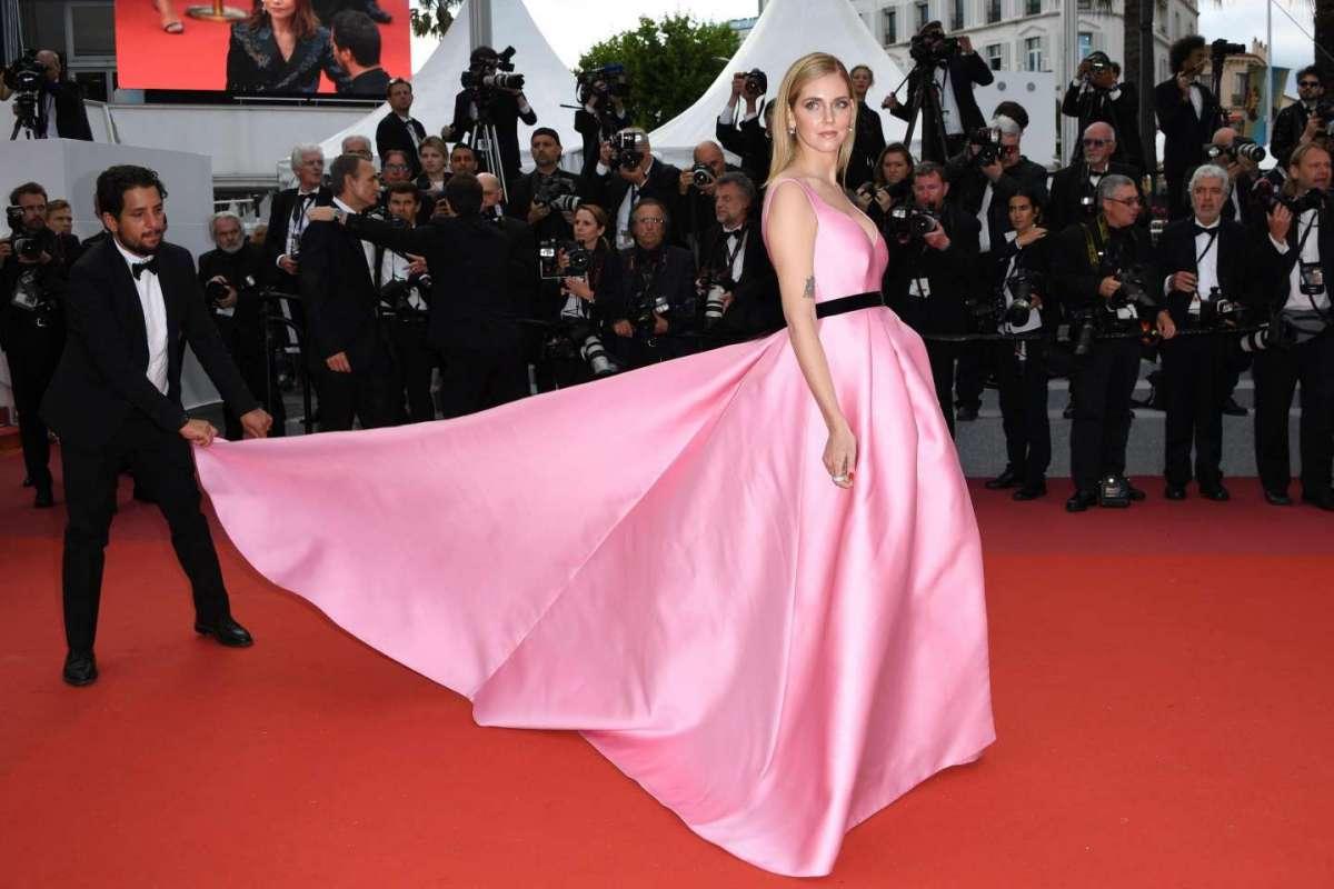 Chiara Ferragni e Fedez, il red carpet a Cannes