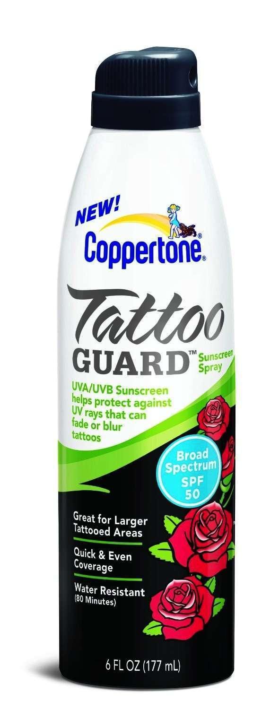 Coppertone Tattoo Guard
