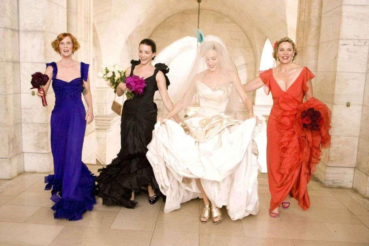 Gli abiti da sposa più belli delle serie tv