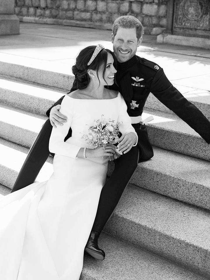 Il Principe Harry e Meghan insieme dopo la cerimonia