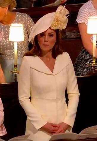 Kate Middleton in  chiesa