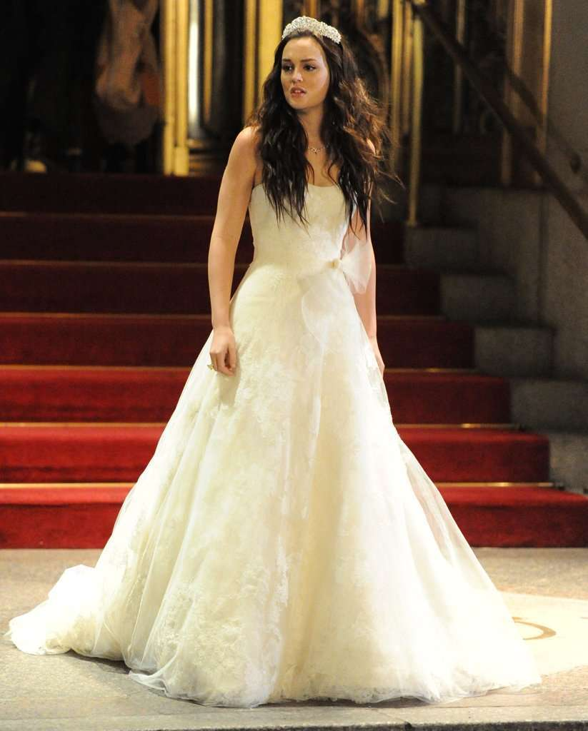 L'abito da sposa Vera Wang di Blair Waldorf in Gossip Girl