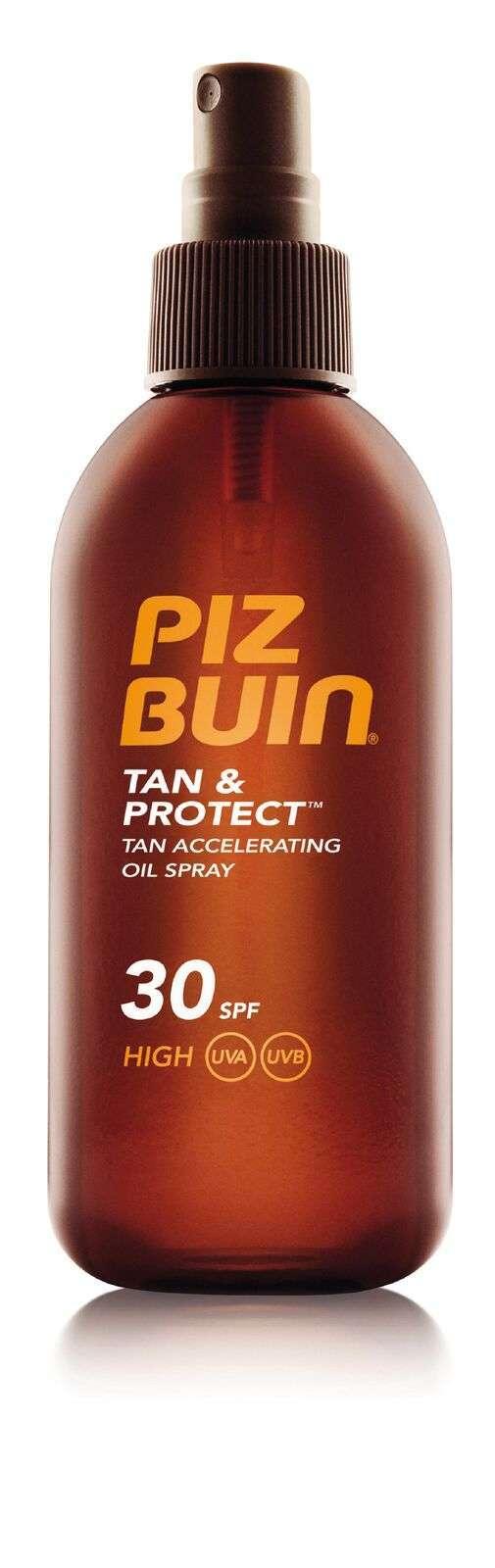 Piz Buin, Tan & Protect: Tan  accelerating oil spray