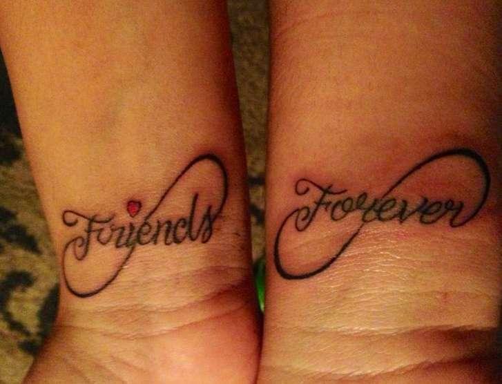 Tatuaggio Amiche per sempre