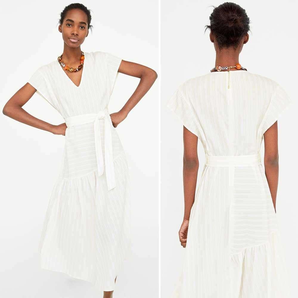 Abbigliamento premaman 2018: outfit Zara