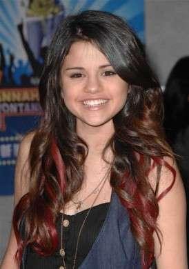 Extension rosse Selena Gomez