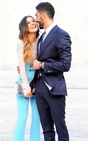 Giorgia e Filippo elegantissimi