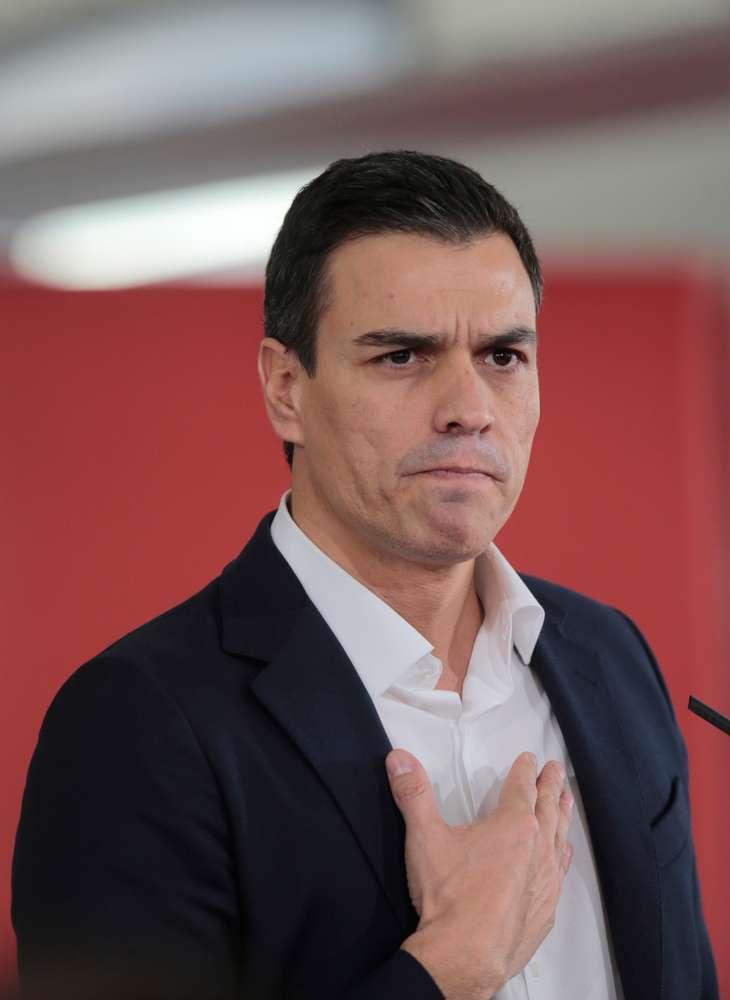 Pedro Sanchez al vertice di governo nel 2018