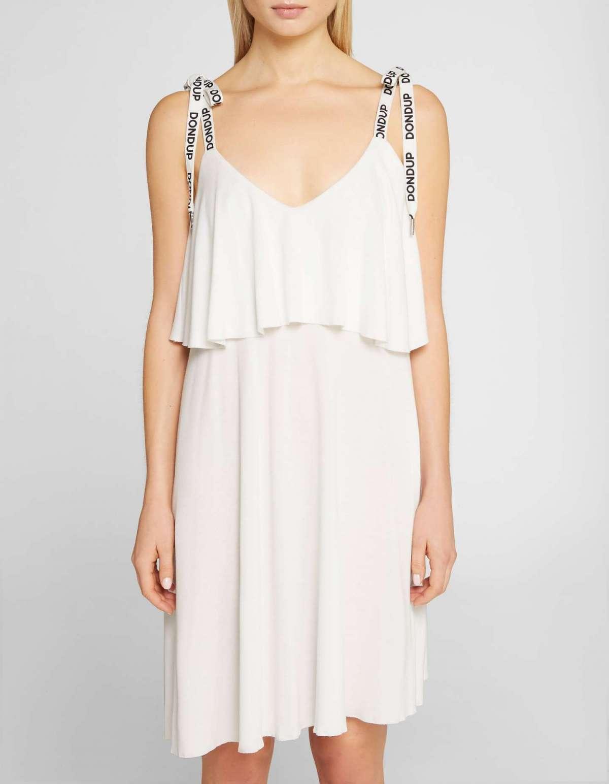Vestito bianco corto Dondup