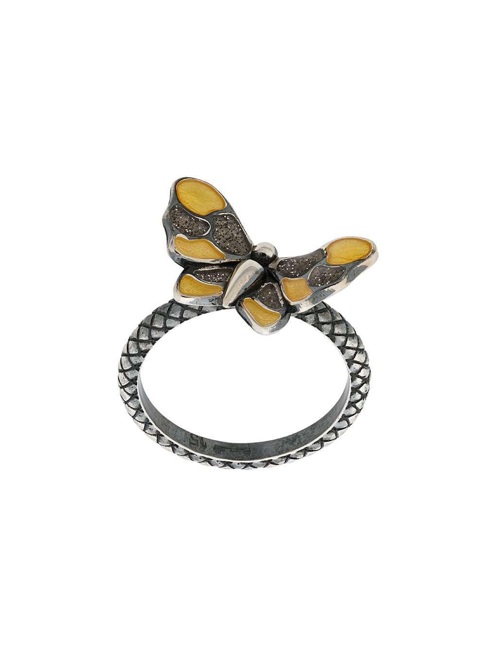 Anello con farfalla Bottega Veneta