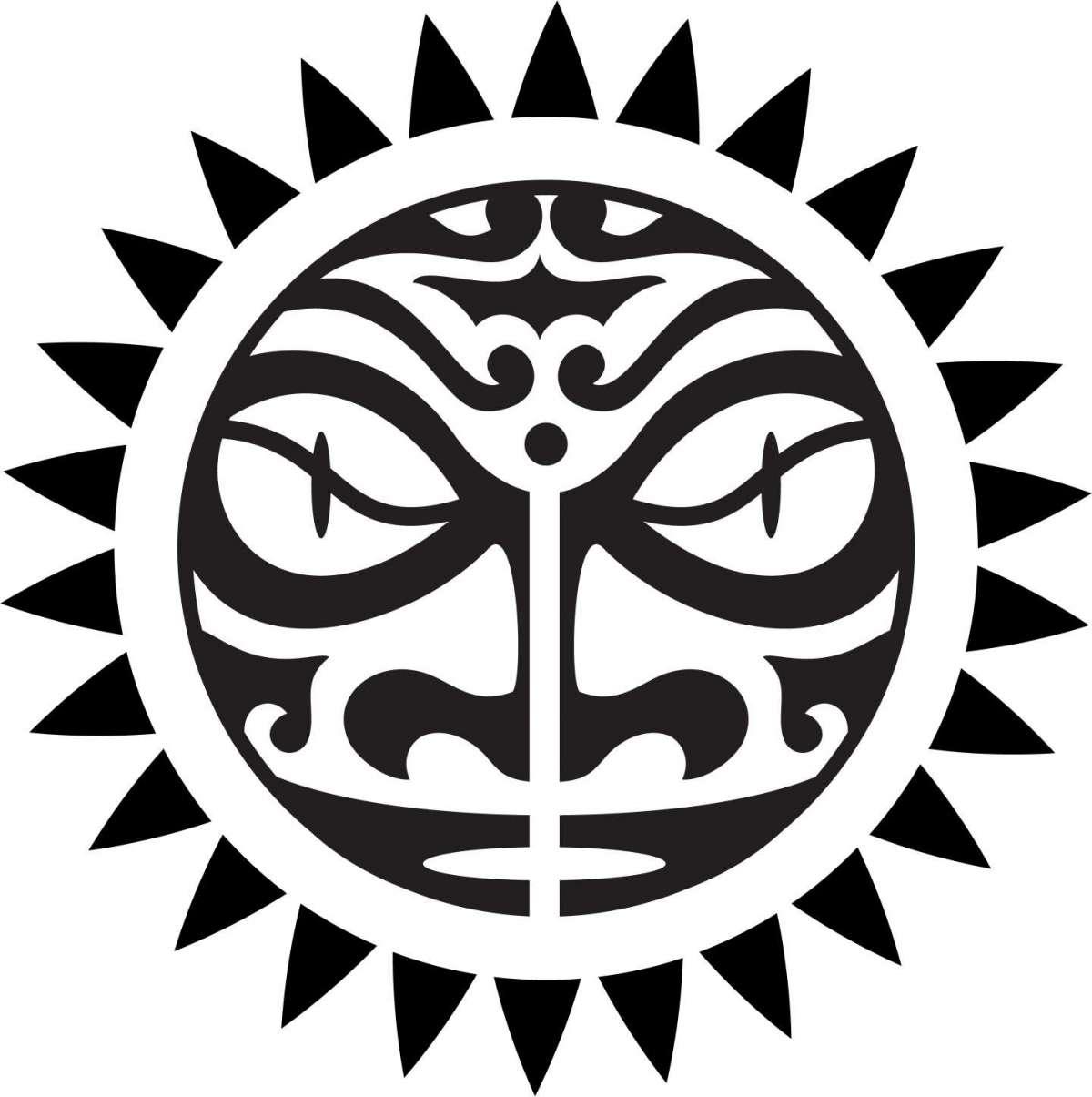 Esempio di sole maori