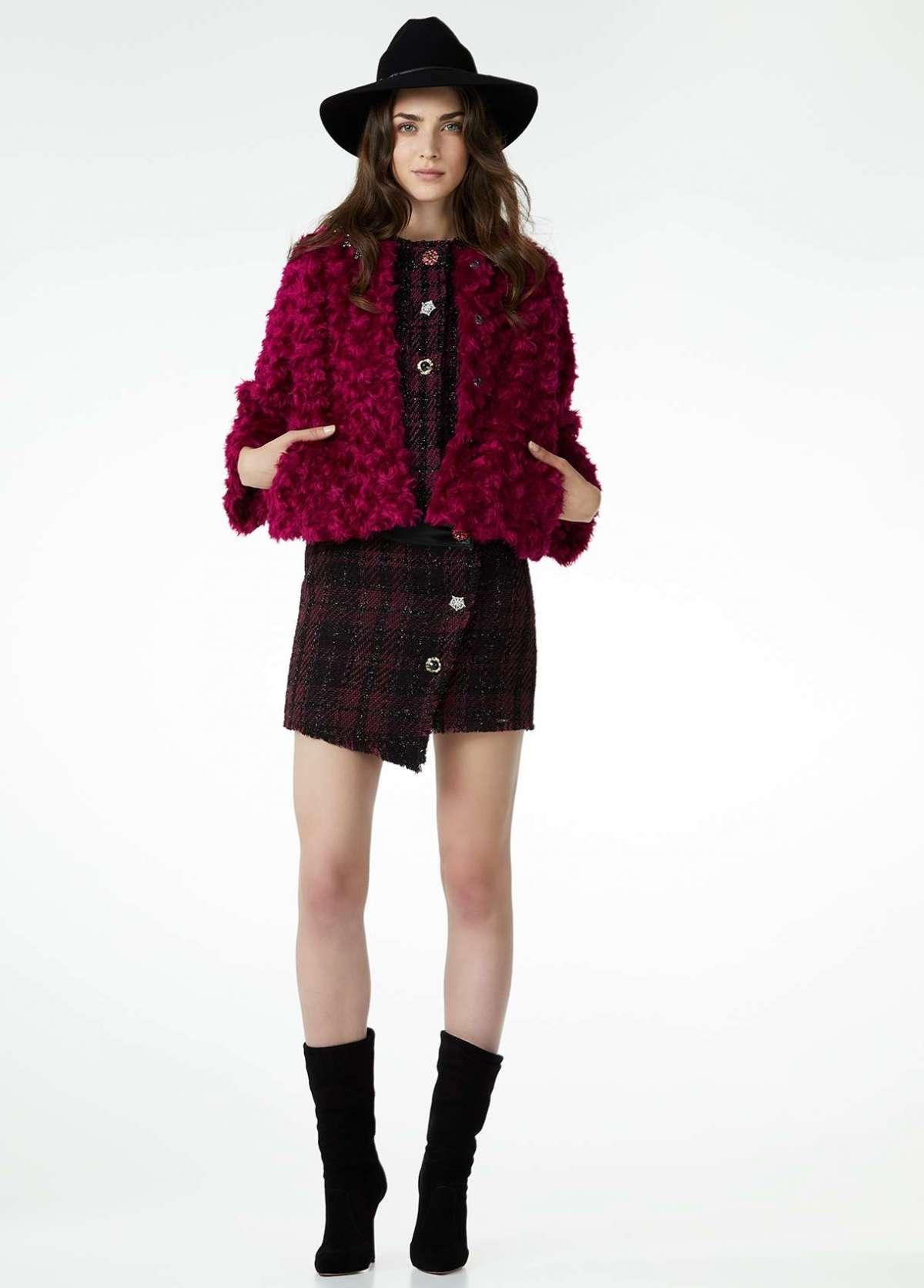 Giacca in pelliccia ecologica Liu Jo a 229 euro
