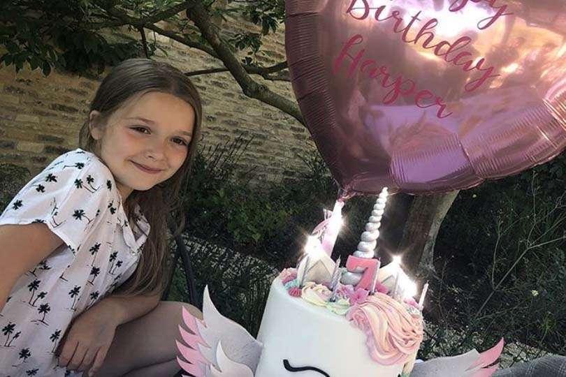 Harper Beckham: compleanno extra lusso
