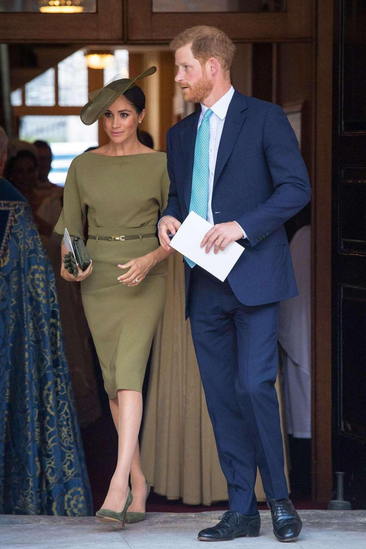 Il Principe Harry e la moglie Meghan Markle