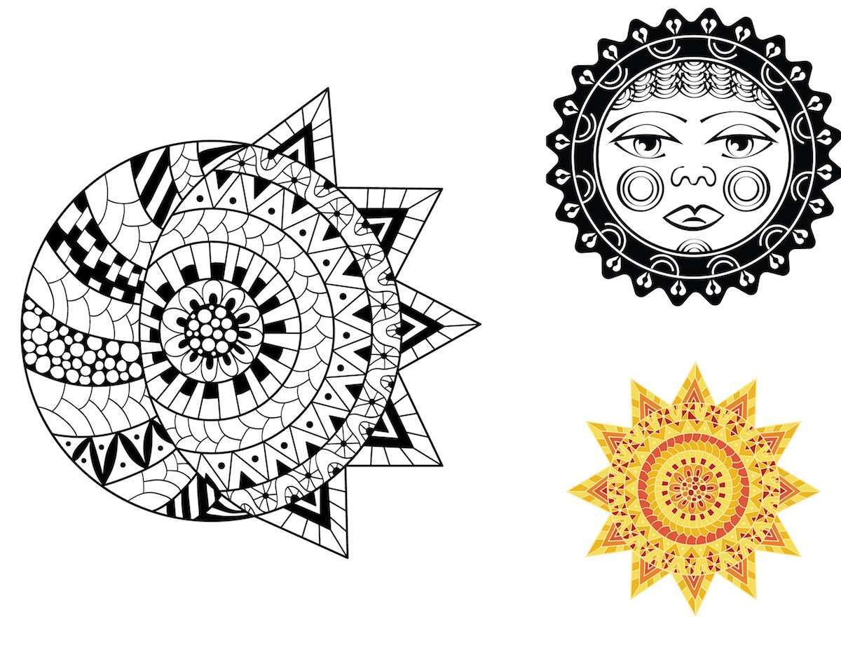 Sole maori: disegni  da cui prendere ispirazione