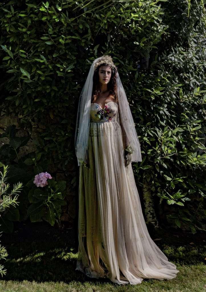 Abito da sposa con corpetto a cuore Elisabetta Delogu
