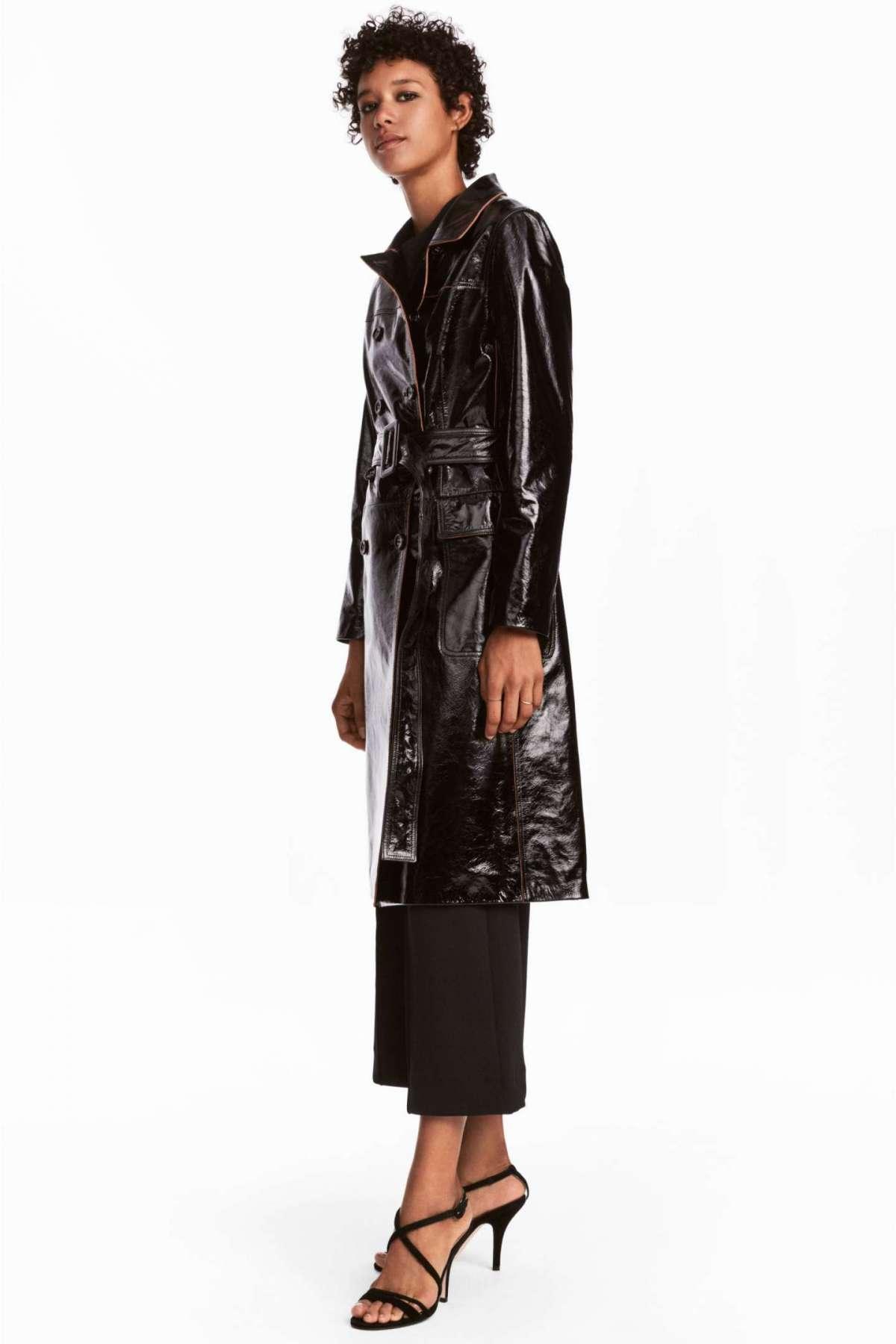 Cappotto di pelle vera H&M a 349 euro