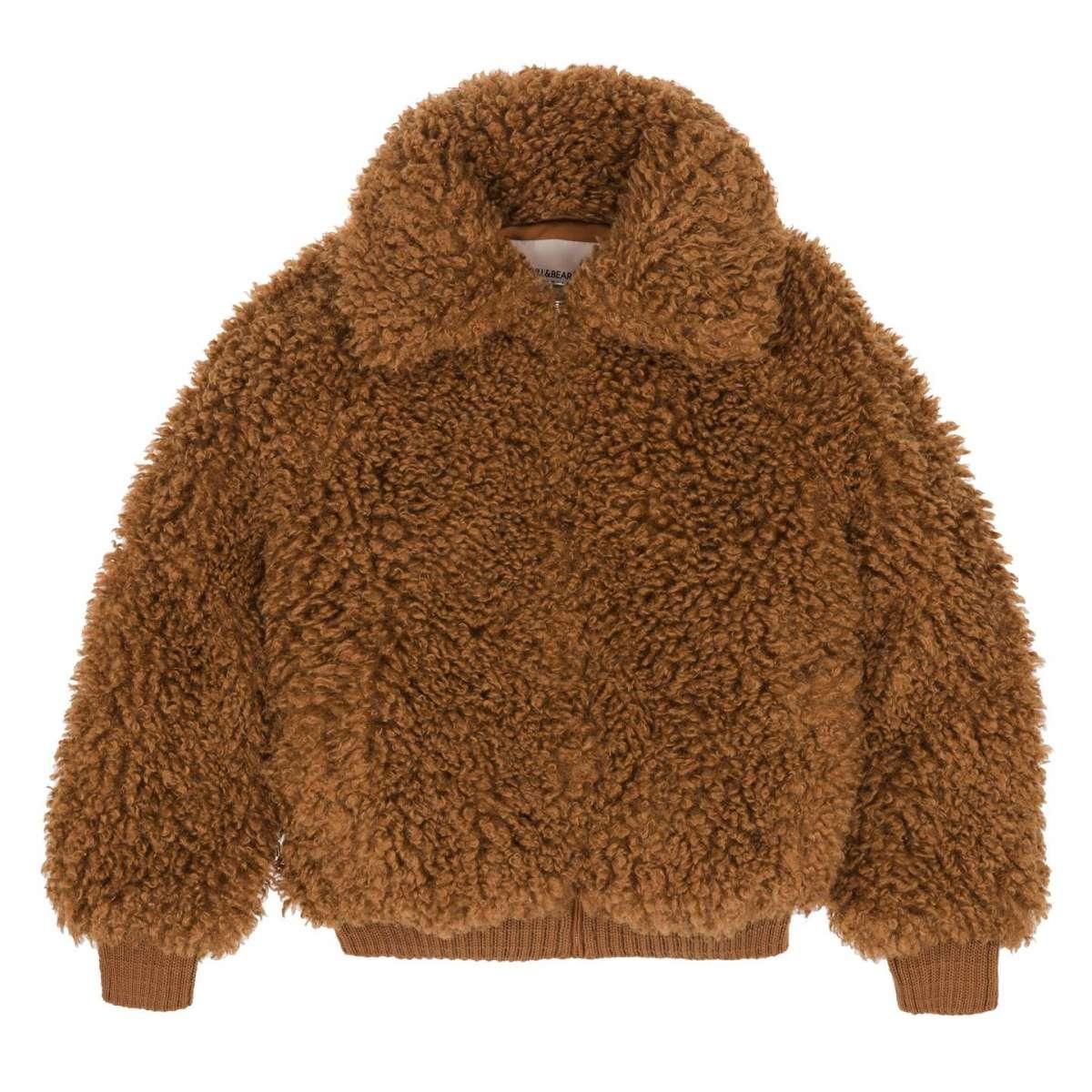 Giubbotto in pelliccia ecologica Pull and Bear