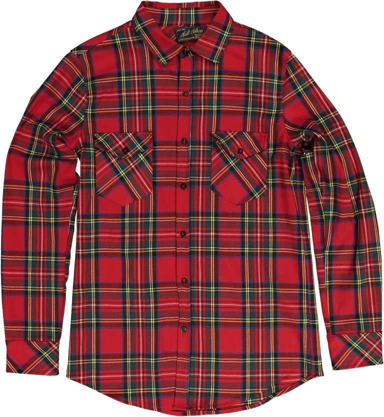 Camicia tartan Alcott