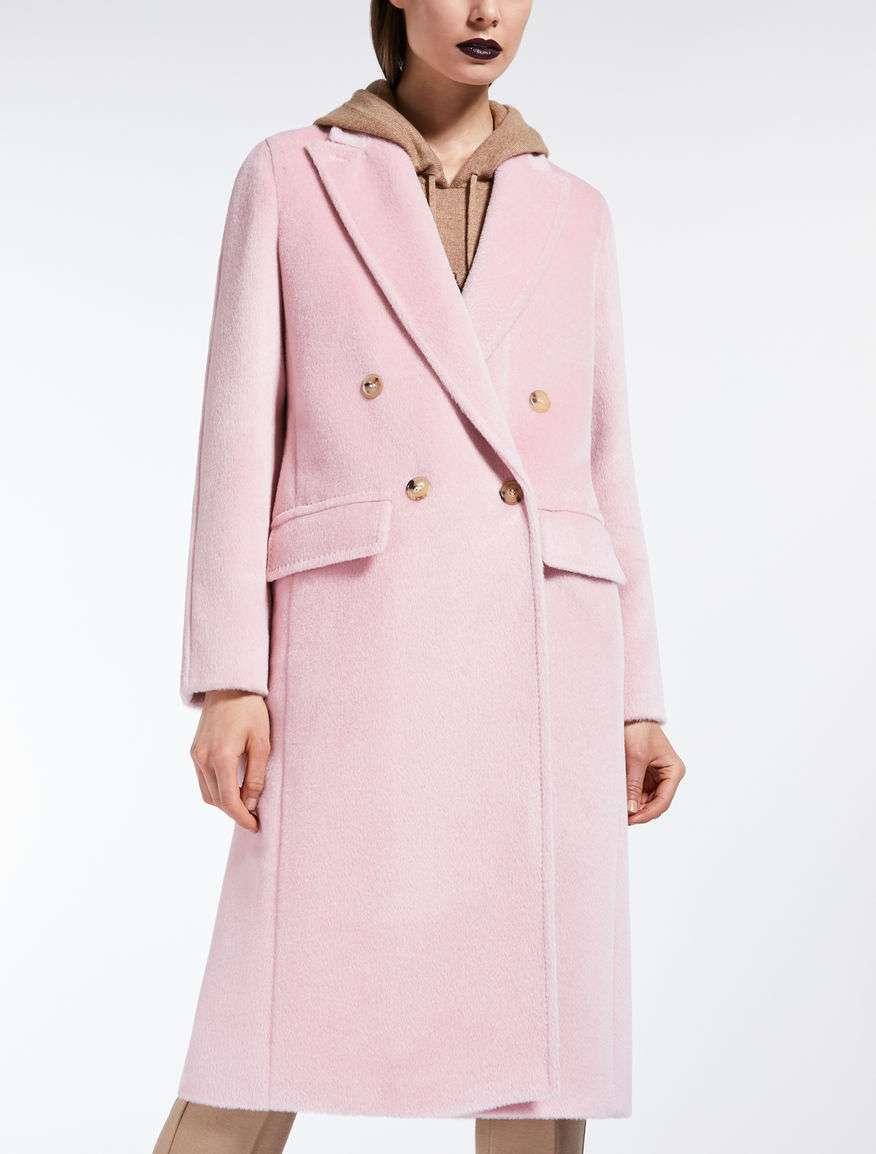 Cappotto rosa lungo Max Mara a 1600 euro