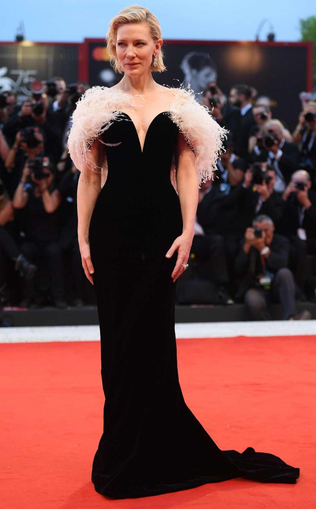 Cate Blanchett in Armani Privè