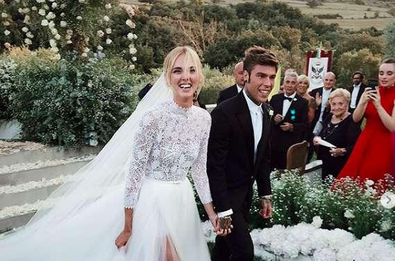 Chiara Ferragni e Fedez, le foto del matrimonio