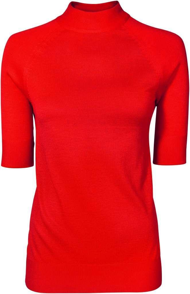 Dolcevita maniche corte rosso Esmara by Heidi Klum #LETSSHAKEITUP