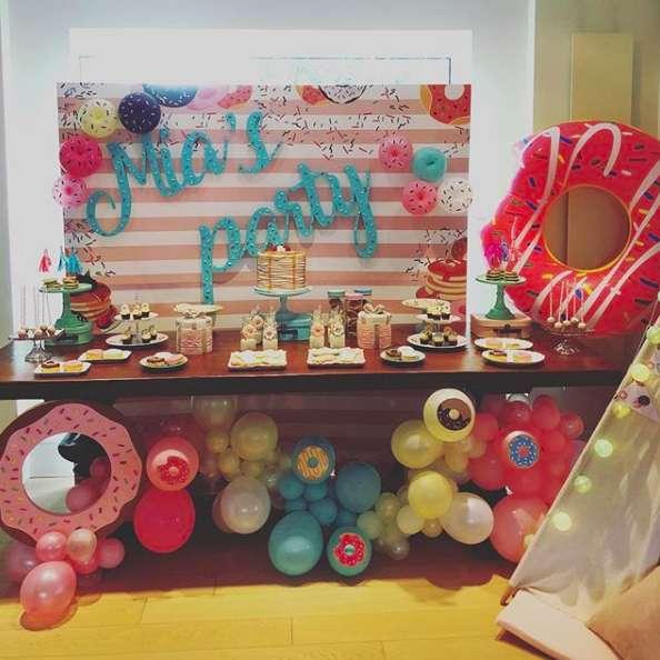 La festa di Mia