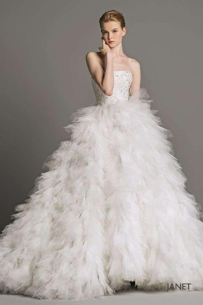 Vestito da sposa in tulle Peter Langner