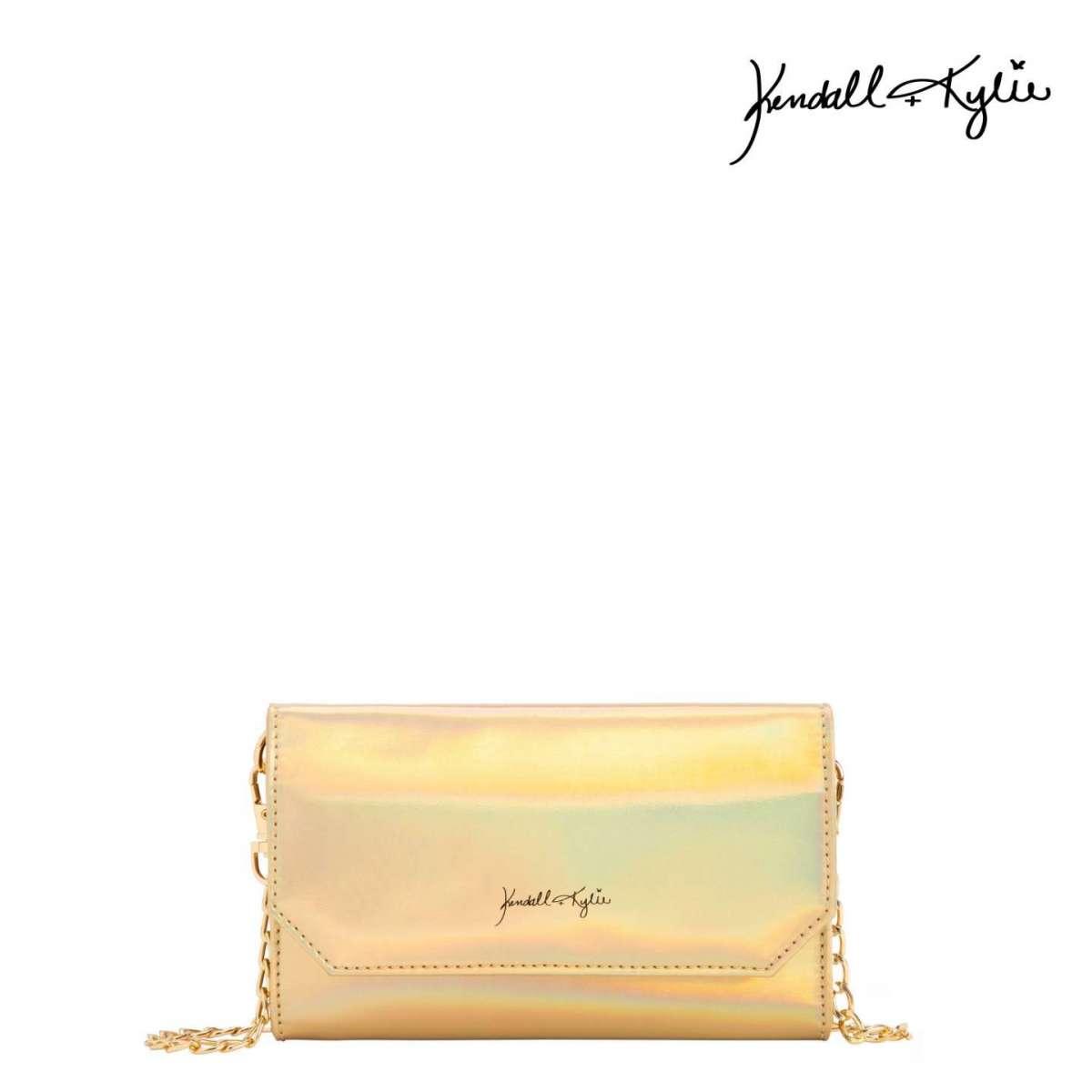 Borsa a tracolla oro Kendall + Kylie for Carpisa a 29,95 euro