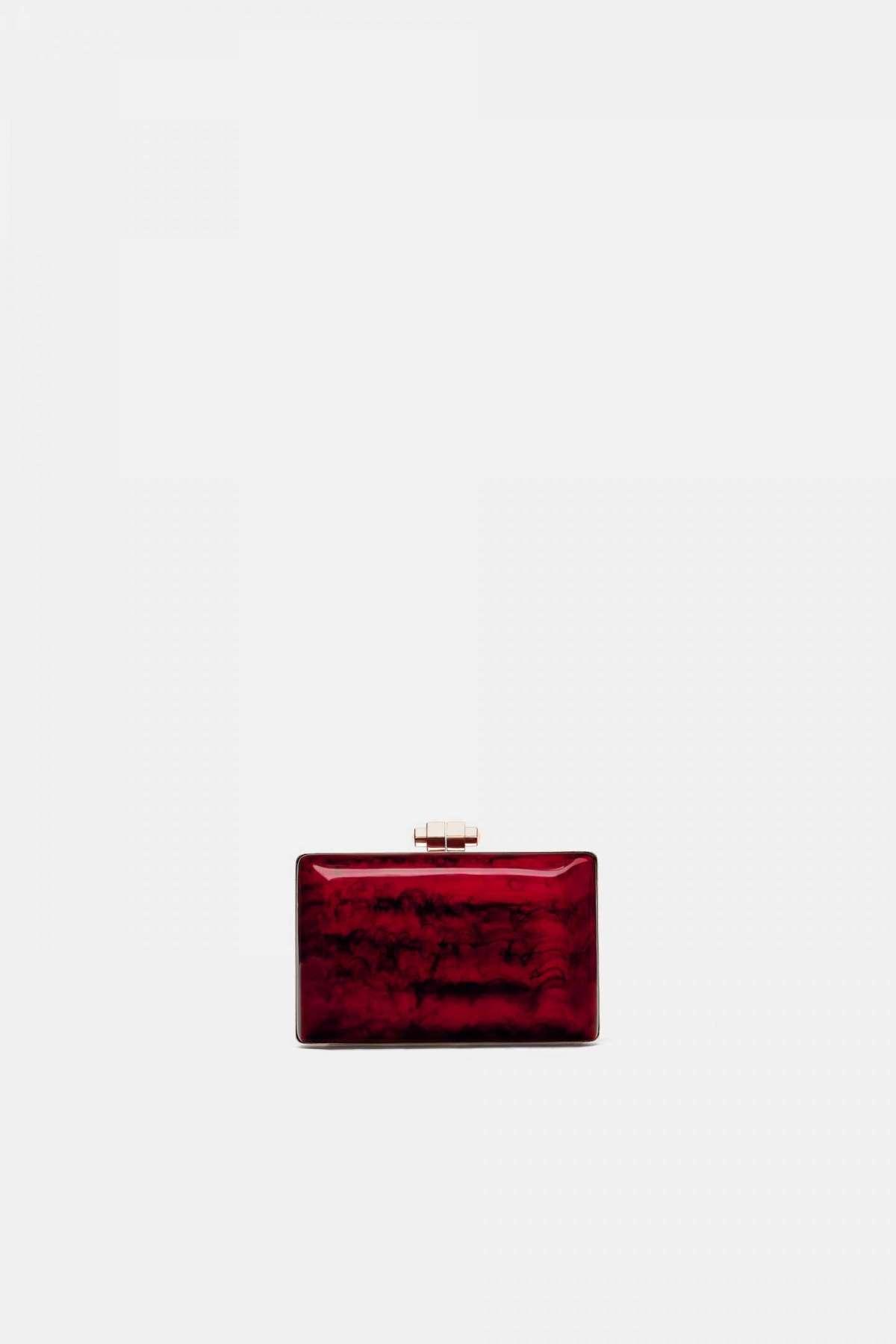 Borsa elegante effetto marmo Zara a 49,95 euro