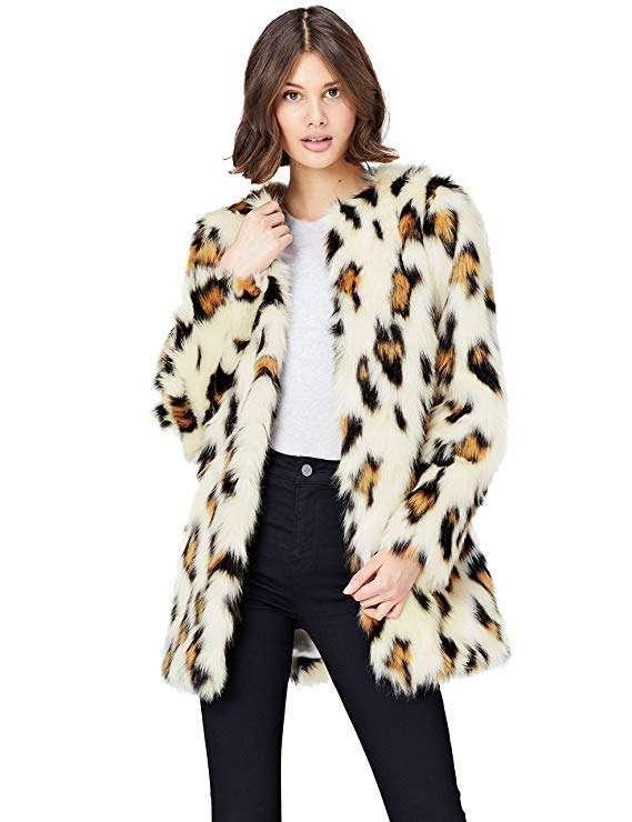 Cappotto in pelliccia ecologica Find