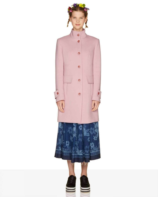 Cappotto rosa Benetton a 79,95 euro