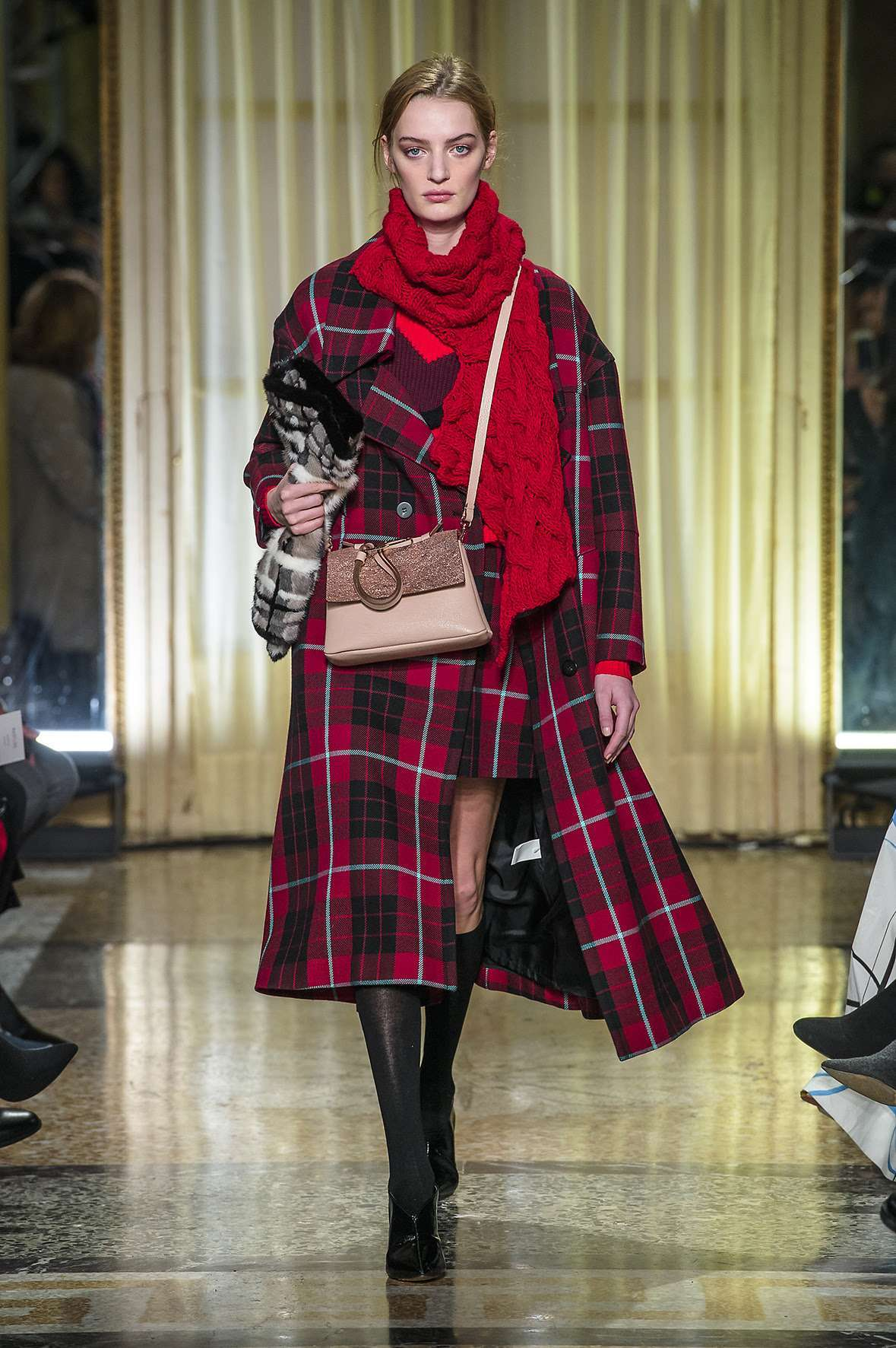 Cappotto tartan Maryling
