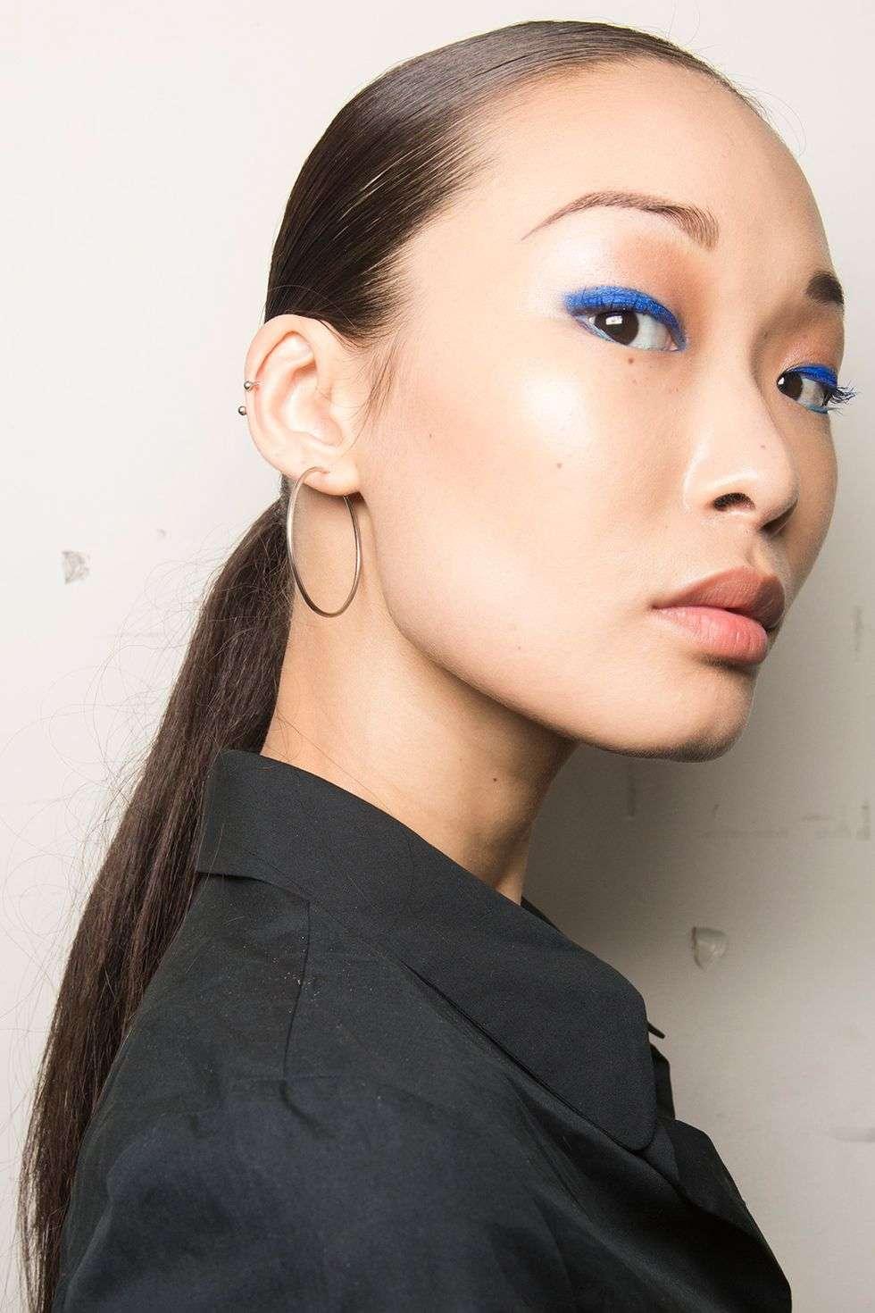 Eyeliner colorato blu