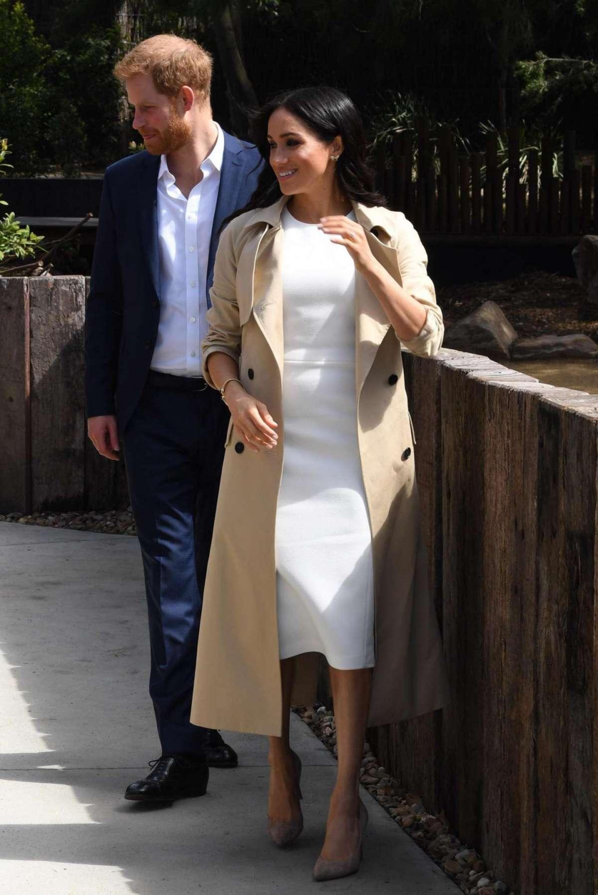 La duchessa di Sussex in Australia