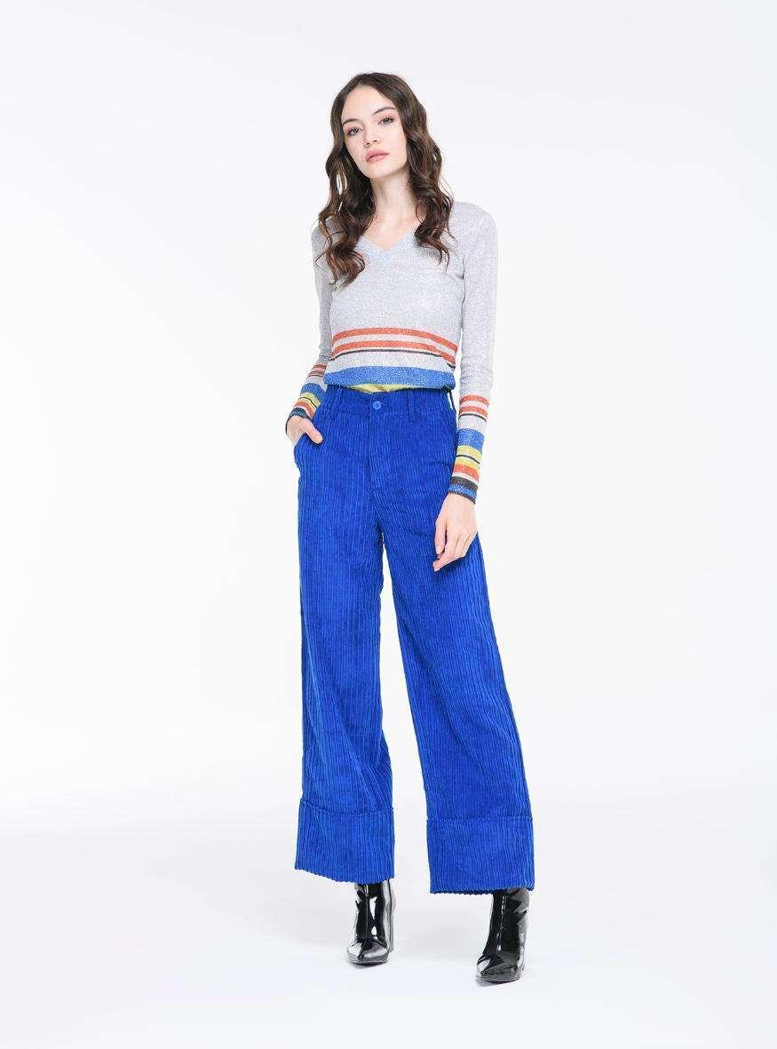 Pantaloni in velluto a coste Alcott
