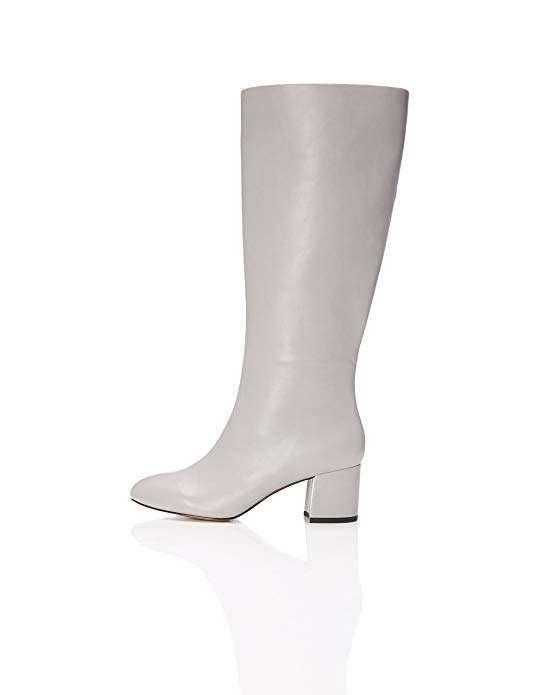 Stivali con tacco bianchi Find