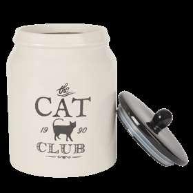 Vaso in ceramica per gatto